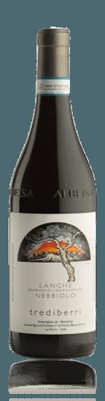 vin Trediberri Langhe Nebbiolo Biologico 2016 Nebbiolo