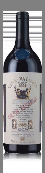 vin Vina Valoria Gran Reserva Rioja 1994 Tempranillo