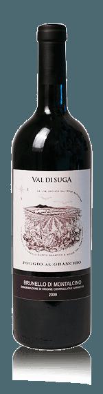 vin Val di Suga Poggio al Granchio Brunello 2009 Sangiovese