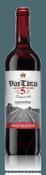 Vias Tintas Valdepenas Gran Reserva 2012 Tempranillo 100% Tempranillo Castilla La Mancha