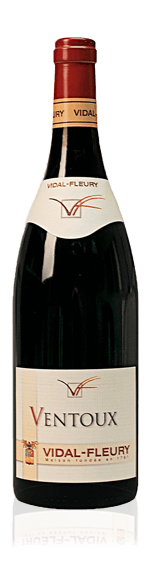 Vidal-Fleury Ventoux Rouge 2015  Grenache 70% Grenache 30% Syrah Rhônedalen