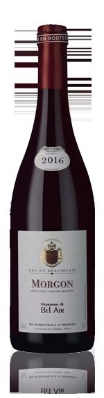 vin Vignerons de Bel Air Morgon 2016 Gamay