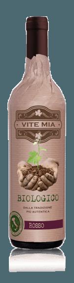 Vite Mia Primitivo Negroamaro Puglia Biologico 2018 Primitivo