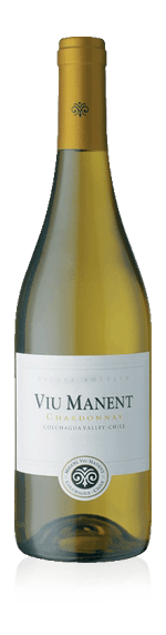 vin Viu Manent Chardonnay Reserva Collection  2017 Chardonnay