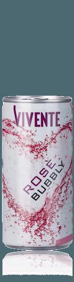 Vivente Rosato Frizzante (200ml) Blandning av blå druvor Blandning av inhemska blå druvor Abruzzo