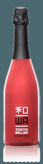 WA Tokyo Bellini Strawberries Annan Mousserande vin och jordgubbar Venetien