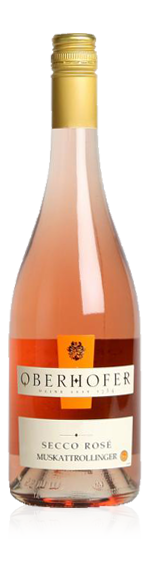 vin Weingut Oberhofer Secco Rosé Muskattrollinger 2016 Muskat-Trollinger