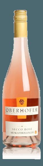 Weingut Oberhofer Secco Rosé Muskattrollinger 2017
