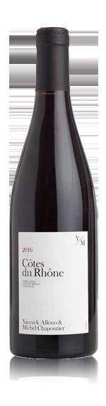 vin Yannick Alléno & Michel Chapoutier Cdr 2016 Syrah