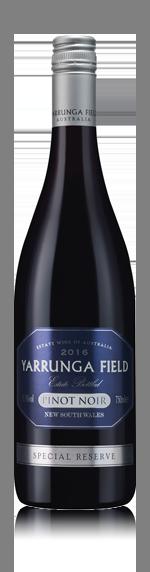 Yarrunga Field Special Reserve Pinot Noir 2016
