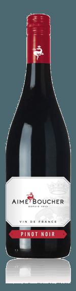 Aimé Boucher Pinot Noir 2017 Pinot Noir 100% Pinot Noir Vin de France