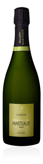 Champagne Marteaux Extra Brut NV Pinot Meunier 50% Pinot Meunier, 30% Chardonnay, 20% Pinot Noir Champagne