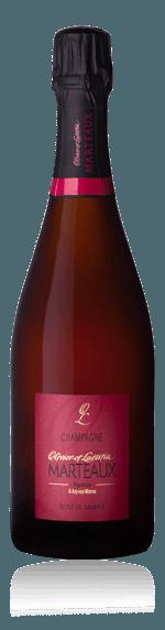Champagne Marteaux Rosé de Saignée NV Pinot Meunier 100% Pinot Meunier Champagne