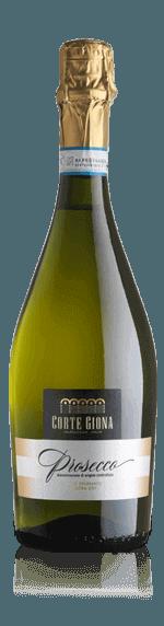 Corte Giona Prosecco Extra Dry Nv Glera 95% Glera, 5% Pinot Grigio Venetien