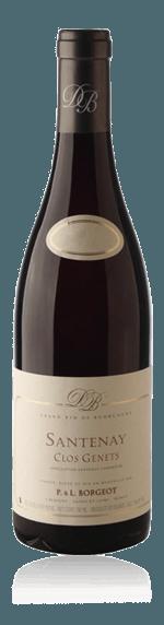 Domaine Borgeot Santenay Clos Genet 2015 Pinot Noir 45% Pinot Noir, 40% Chardonnay, 15% Aligoté Bourgogne