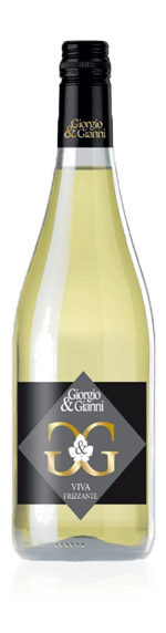 Giorgio & Gianni Viva Bianco Frizzante NV Pinot Grigio 80% Pinot Grigio, 20% lokala druvsorter Vino d'Italia