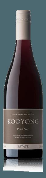 Kooyong Estate Pinot Noir 2018 Pinot Noir 100% Pinot Noir Victoria