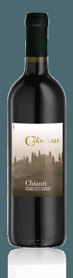 La Carminnaia Chianti 2017 Sangiovese 85% Sangiovese, 15% andra lokala druvor Toscana