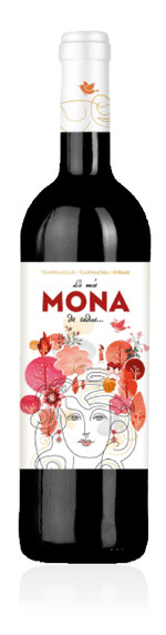 La Más Mona de Todas 2018 Tempranillo 40% Tempranillo, 40% Garnacha, 20% Syrah Aragonien