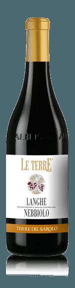 Le Terre Langhe Nebbiolo 2017 (i trälåda) Nebbiolo 100% Nebbiolo Piemonte