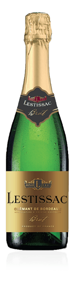 Lestissac Crémant de Bordeaux Brut Cabernet Franc