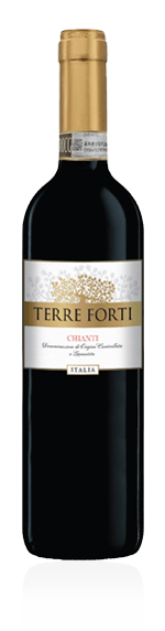Terre Forti Chianti 2018 Sangiovese 85% Sangiovese, 15% andra lokala druvor Toscana