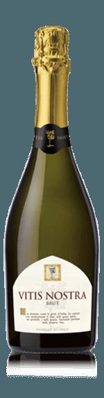 Vitis Nostra Spumante Brut NV Chardonnay Chardonnay, Trebbiano Vino d'Italia
