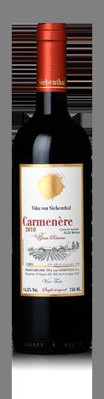 vin von Siebenthal Carmenère 2014 Carmenère