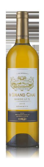 vin Le Grand Chai Bordeaux Réserve 2015 Sauvignon Blanc