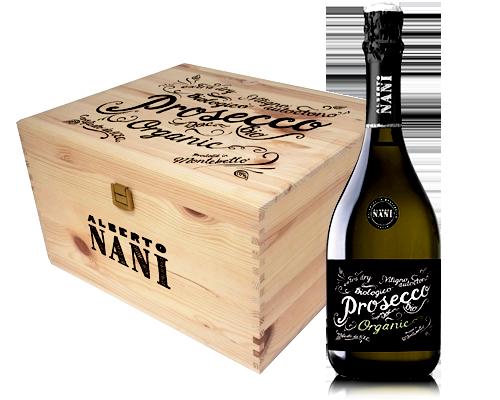Alberto Nani Prosecco Biologico Nv (6 flaskor i trälåda)