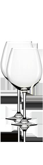 Dartington Rödvinsglas (2 St)