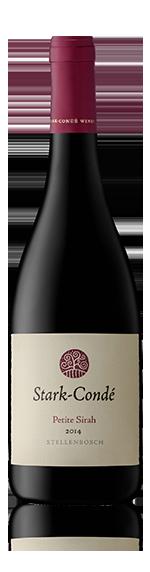 Stark-Condé Petite Sirah 2016 Syrah 85% Petite sirah, 8% Syrah, 7% merlot Stellenbosch