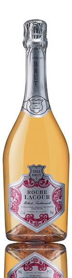 Roche Lacour Rose Cremant De Limoux 2013 Chardonnay