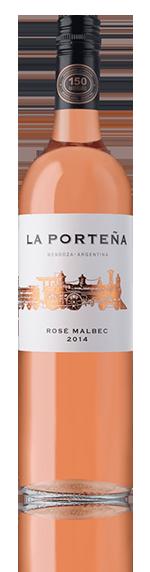La Portena Malbec Rose 2014 Malbec