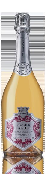 Roche Lacour Rosé Crémant Blend