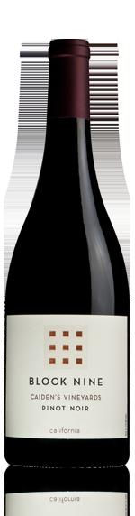 Block Nine Pinot Noir 2012 Pinot Noir