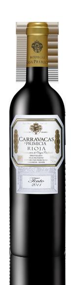 Carravacas De Primicia Oak-Aged 2011 Tempranillo
