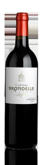 Château Brondelle Grand Vin Graves rouge 2010 Cabernet Sauvignon