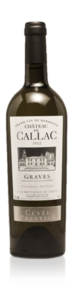 Château Callac Cuvée Prestige Blanc 2012 Blend