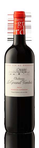 Château Le Grand Verdus Rouge 2010 Merlot