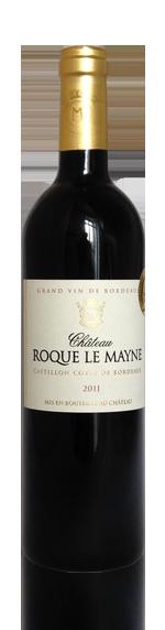 Château Roque le Mayne Castillon Cotes de Bordeaux 2011 Blend