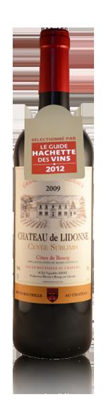 Château De Lidonne Cuvée Sublimis 2009 Merlot