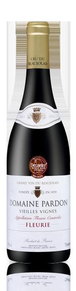 Domaine Pardon Vieilles Vignes Fleurie 2011 Gamay
