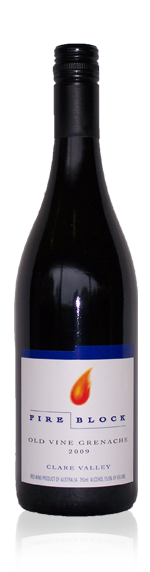 Fire Block Old Vine Grenache 2012 Grenache 100% Grenache South Australia