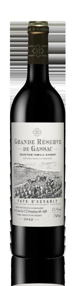 Grande Réserve de Gassac Rouge 2012 Cabernet Sauvignon