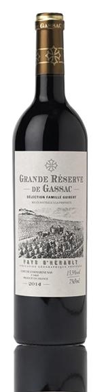 Grande Reserve De Gassac Rouge Igp 2014 Cabernet Sauvignon