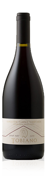 Kingston Family Tobiano Pinot Noir 2010 Pinot Noir
