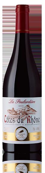 La Poulardiere Rouge Cotes Du Rhone 2011 Grenache