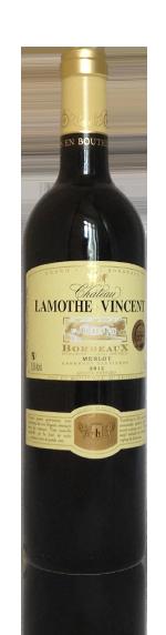 Château Lamothe Vincent Bordeaux Rouge 2012 Merlot