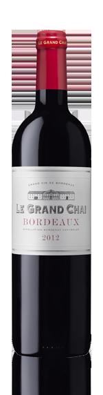 Le Grand Chai Bordeaux Rouge Aoc 2012 Merlot